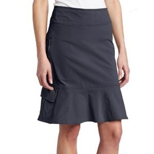 Royal Robbins Discovery Skirt in Charcoal